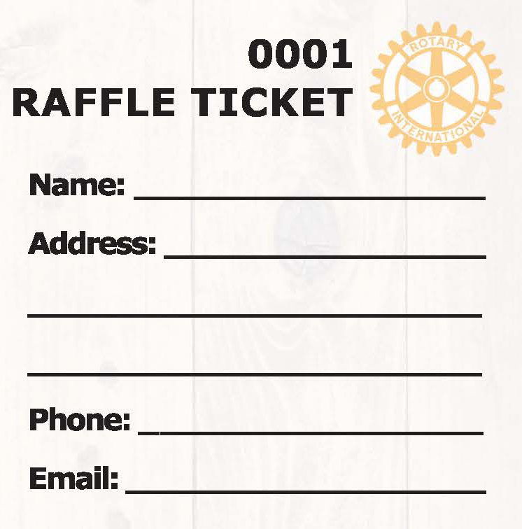 raffle ticket rotary steak fry